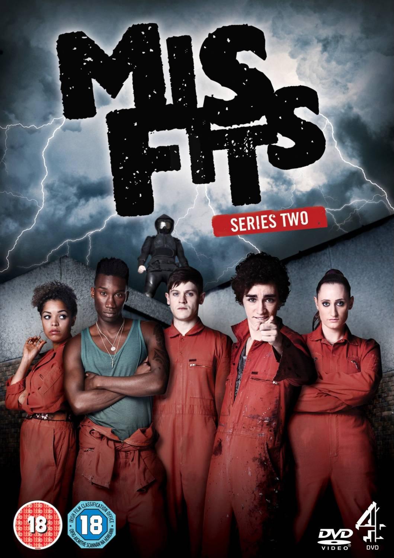 Misfits - Series 2 - Complete - Blu-ray.